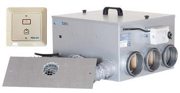 Avfuktare Acetec PD-400 med indikatorpanel