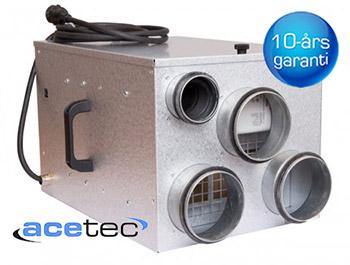 Nya Acetec EvoDry PD150 avfuktaren med tio års garanti