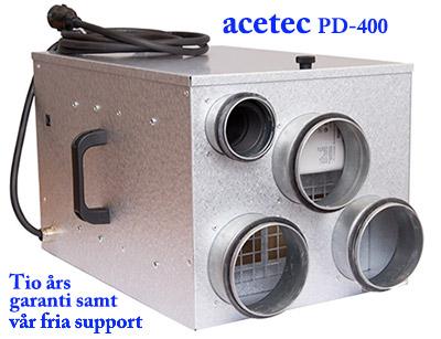 Avfuktare EvoDry PD400 modell 2014 från Acetec