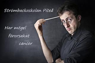 Har mögel på Strömbackaskolan förorsakat cancer