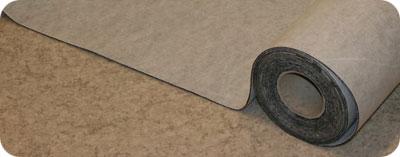 Här ses Ctrap rullas ut över golv som släpper lukt