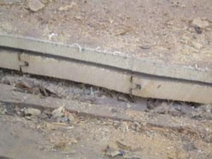 Golv på golv i torpargrund