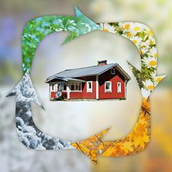 Hus eller somarstuga som kallställes drabbas av mögel