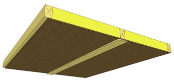 Här ses den modernare varianten av golvbjälklag i krypgrund
