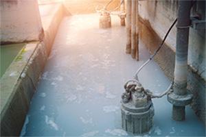Luftrenare för pumphus och pumpstation