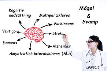 Mögel och svamp som orsak till ALS samt Alzheimer?