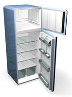 Mögel i kylskåp är vanligt