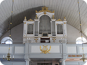 En vacker kyrkorgel