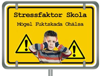 Skola med mögel och fuktskada stress-skadar barn