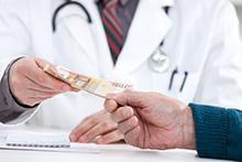 Vissa konsulter inom området sjuka hus verkar vara korrupta