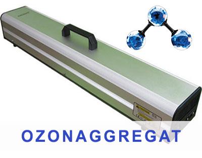 Ozonaggregat för sanering av lukt med mera
