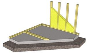 platta på mark är en skadedrabbad konstruktion