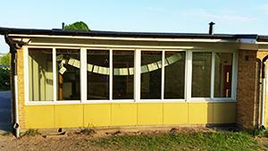 Här ett sjuka hus, Hjortsbergsskolan i Ljungby