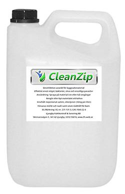 CleanZip för desinfektion vid socialsanering