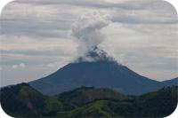 Vulkanaska kan spridas i mängd och transporteras långt.