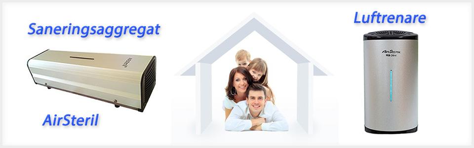 Luftrenare för bättre inomhusmiljö