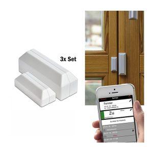 TFA WeatherHub Larmsesnorer för fönster och dörr
