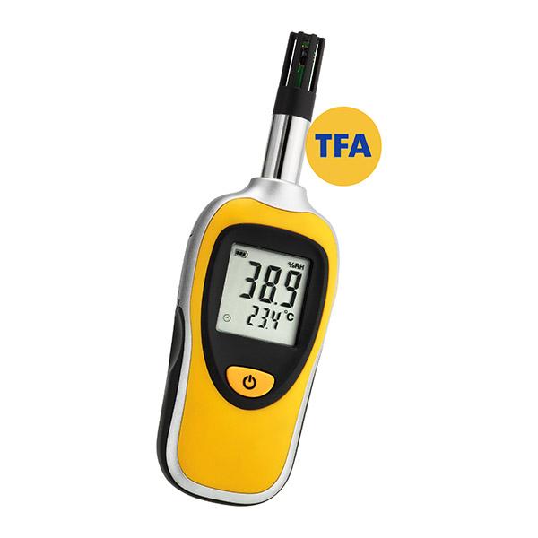 Fuktmätare TFA klima Bee för relativ fuktighet och temperatur