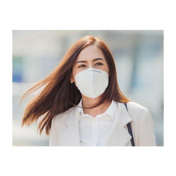 Andningsskydd KN95 mot virus mögel bakterier och damm