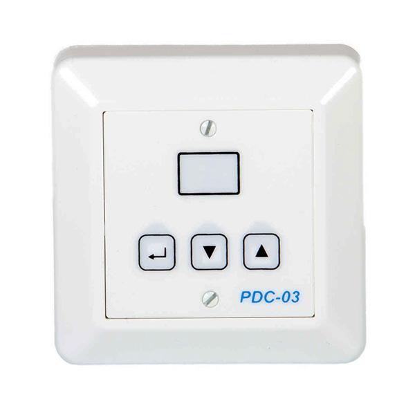 Styrpanel och övervakningspanel för Acetec avfuktare